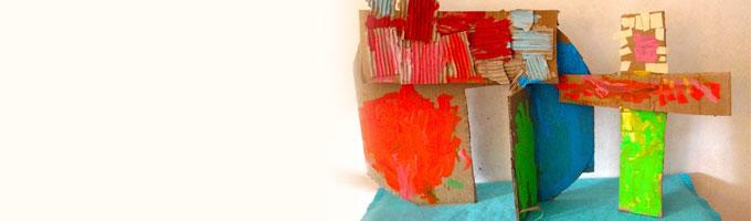 Kunstzinnig hoeft niet zinnig te zijn bij kinderopvang HET BONTE HUIS